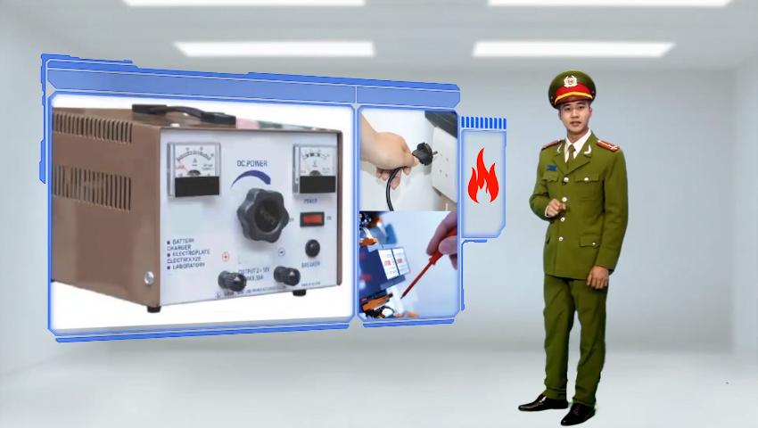 Hệ thống điện phải có thiết bị bảo vệ chống quá tải , tắt điện khi đi ngủ hoặc ra khỏi nhà