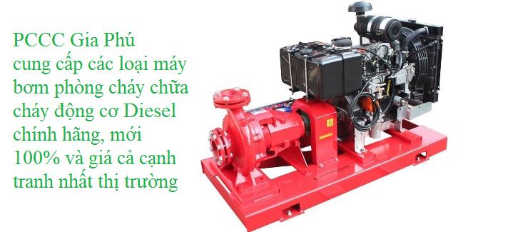 Máy bơm PCCC động cơ diesel