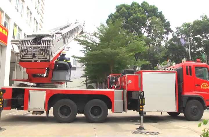 Tập huấn nâng cao nghiệp vụ bảo dưỡng, sử dụng thiết bị chữa cháy