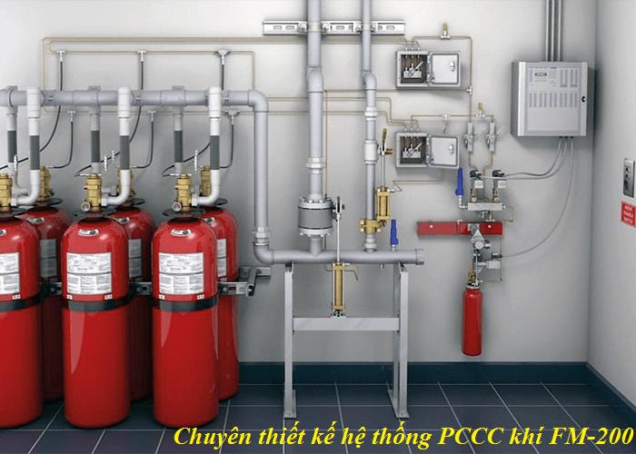 hệ thống chữa cháy bằng khí FM200