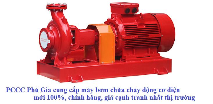 máy bơm PCCC chạy điện