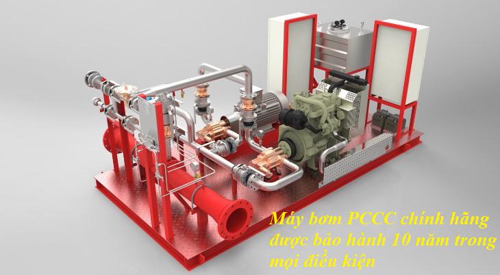 cung cấp máy bơm PCCC chính hãng