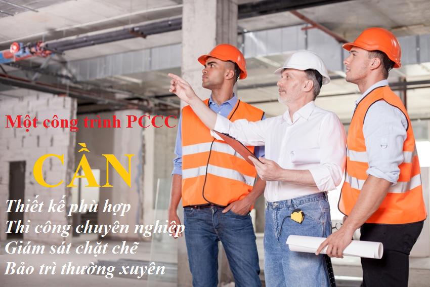 Thiết kế, thi công PCCC phải do đơn vị chuyên nghiệp, có giấy chứng nhận đủ chức năng thiết kế phòng cháy chữa cháy thực hiện
