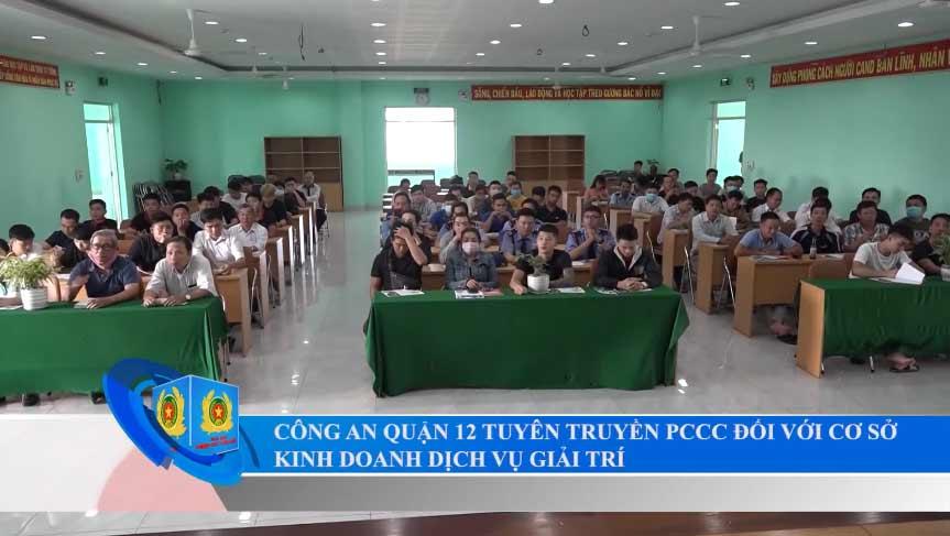 Tuyên truyền huấn luyện công tác PCCC